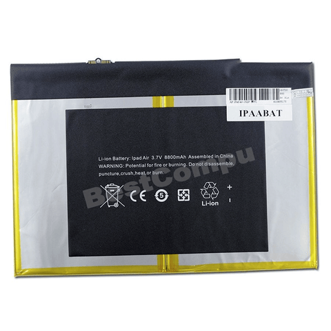 Iphone-accessory - Replacement Battery For IPad Air Model A1474 (8800 MAh)