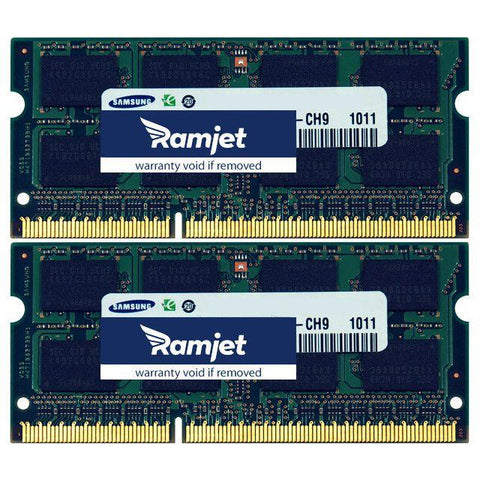 DDR3-1600-SODIMM - 8GB IMac Memory For 27-inch Late 2012 To Mid 2015 Models 13,2 14,2 And 15,1 (4GBx2)