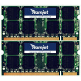 DDR2-667-SODIMM - 4GB IMac Memory For Early 2006 To Mid 2007 Models 4,1 4,2 5,1 5,2 6,1 And 7,1 (2GBx2)