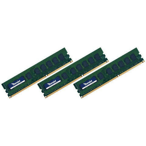 MP-DDR3-1066 - 6GB (2GBx3) DDR3 ECC 1066MHz Memory For Early 2009 To Mid 2010 Mac Pro 4.1 And 5.1 (8-Core And 4-Core)