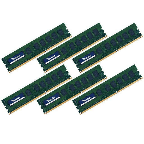 MP-DDR3-1066 - 12GB (2GBx6) DDR3 ECC 1066MHz Memory For Early 2009 To Mid 2010 Mac Pro 4.1 And 5.1 8-core