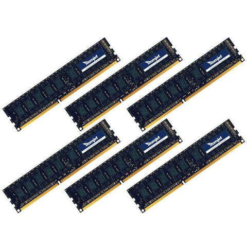 MP-DDR3-1333 - 12GB (2GBx6) DDR3 ECC 1333MHz Memory For 2010 Mac Pro 5.1 (12-core)