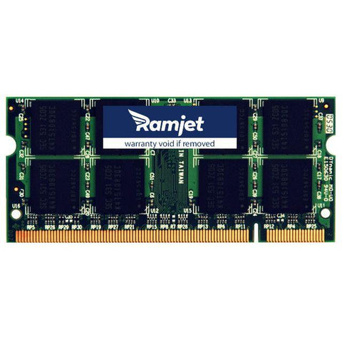 DDR2-667-SODIMM - 4GB MacBook Memory For Models 3,1 4,1 And 5,2 DDR2-667Mhz Version