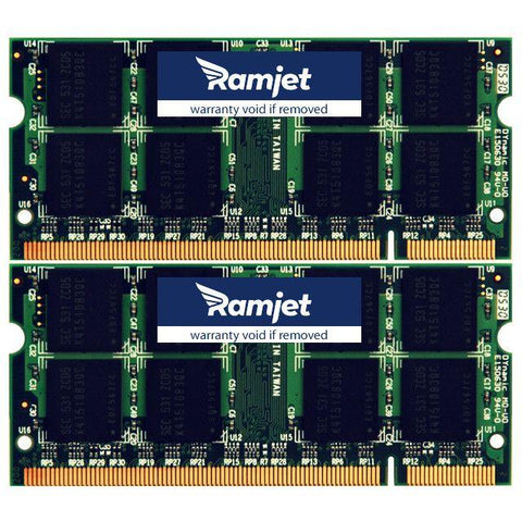 DDR2-667-SODIMM - 6GB MacBook Memory For Models 3,1 4,1 And 5,2 DDR2-667Mhz Version (4GB+2GB)