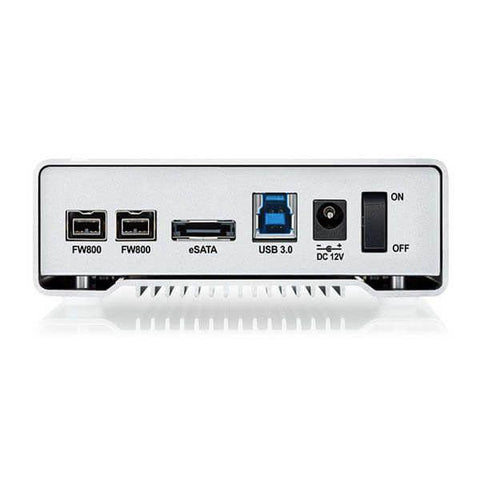 Drives-external-desktop - 1TB External Hard Drive With FireWire 800/400 And USB 3.0 Ports