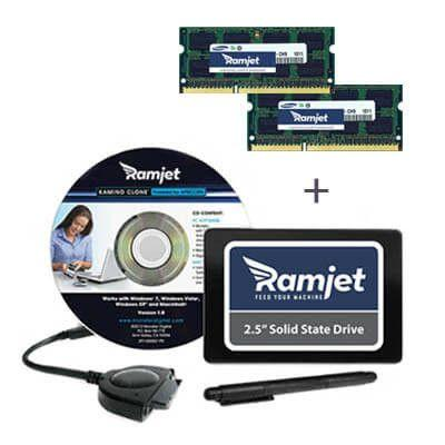 Bundles-ram-sdd - 1TB SSD + 8GB RAM (4GBx2) 1066MHz Performance Package