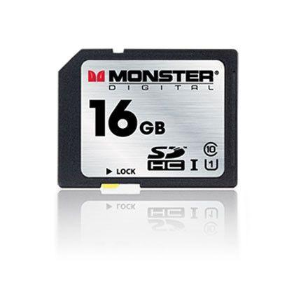 Accessories - 16GB SDHC Class 10 Card From Monster Digital