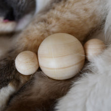 Load image into Gallery viewer, Furever Catlady MEOWLICULE wooden cat toy