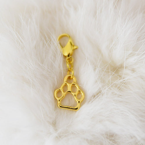 Pendant with clasp, Golden PAW