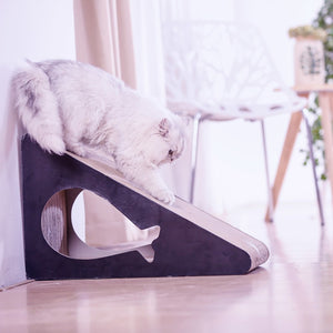 Cat scratcher made from cardboard heaven