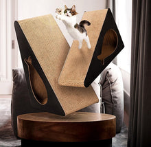 Load image into Gallery viewer, Cat scratcher made from cardboard heaven