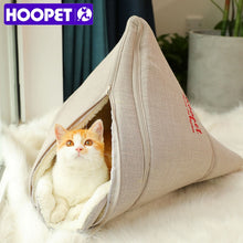 Load image into Gallery viewer, Cat Bed with soft inside. Make it a fun hideout