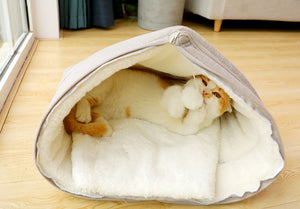 Cat Bed with soft inside. Make it a fun hideout