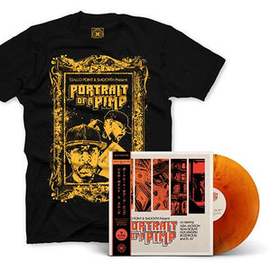 "Portrait Of A Pimp (BUNDLE 2) | SmooVth x Giallo Point | Copenhagen Crates Exclusive Limited Vinyl 12"" Wax Record Underground Rap Hiphop Hip Hop"