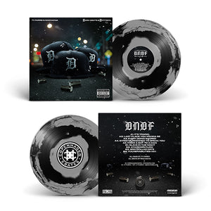 "Dark Nights And D Fitted's (LP) | Ty Farris x Machacha | Copenhagen Crates Exclusive Limited Vinyl 12"" Wax Record Underground Rap Hiphop Hip Hop"