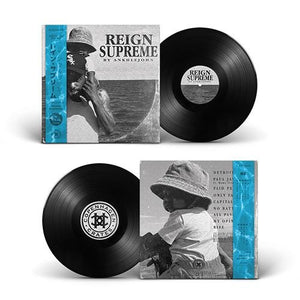 "Reign Supreme (LP) | Ankhlejohn | Copenhagen Crates Exclusive Limited Vinyl 12"" Wax Record Underground Rap Hiphop Hip Hop"