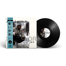"Load image into Gallery viewer, A Cold World (LP) | Ankhlejohn x Vinyl Villain | Copenhagen Crates Exclusive Limited Vinyl 12"" Wax Record"