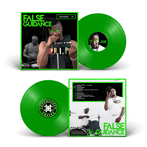 False Guidance (LP) | Heem Stogied x J57 | Copenhagen Crates Exclusive Limited Vinyl 12