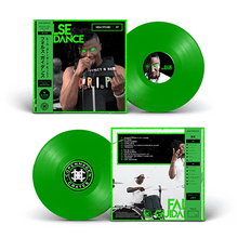 "Load image into Gallery viewer, Heem Stogied J57 False Guidance Vinyl record 12"" limited edition neon green pink magenta"