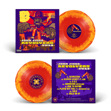 "Load image into Gallery viewer, Revolvers (LP) | John Jigg$ x Swab | Copenhagen Crates Exclusive Limited Vinyl 12"" Wax Record Underground Rap Hiphop Hip Hop"
