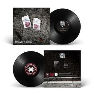 "China White (LP) | SmooVth x Royalz | Copenhagen Crates Exclusive Limited Vinyl 12"" Wax Record"