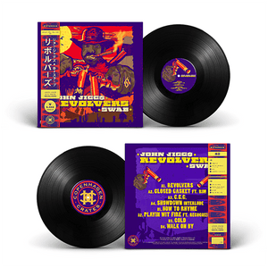"Revolvers (LP) | John Jigg$ x Swab | Copenhagen Crates Exclusive Limited Vinyl 12"" Wax Record Underground Rap Hiphop Hip Hop"