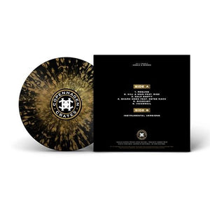 "Angelz & Demonz (LP) | M.A.V. x Hobgoblin | Copenhagen Crates Exclusive Limited Vinyl 12"" Wax Record"