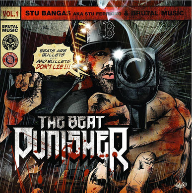 The Beat Punisher (LP) | Stu Bangas | Copenhagen Crates Exclusive Limited Vinyl 12