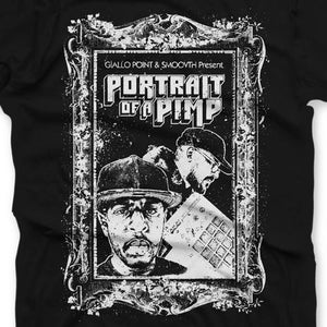 "Portrait of a Pimp (T-SHIRT) | SmooVth x Giallo Point | Copenhagen Crates Exclusive Limited Vinyl 12"" Wax Record"