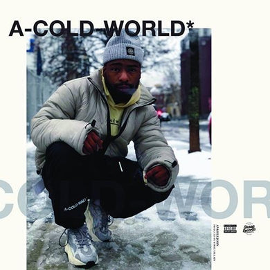 Ankhlejohn aka. Big Lord x Vinyl Villain - A Cold World (Vinyl, LP)