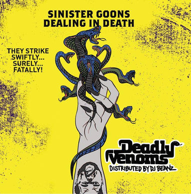 Deadly Venoms (LP) | DJ Beanz | Copenhagen Crates Exclusive Limited Vinyl 12