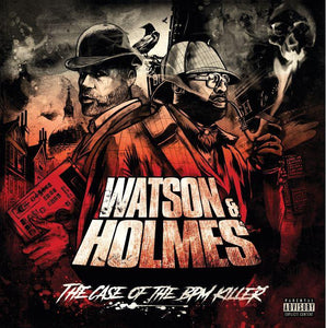 "Watson & Holmes 3 (LP) | Blacastan & Stu Bangas | Copenhagen Crates Exclusive Limited Vinyl 12"" Wax Record Underground Rap Hiphop Hip Hop"