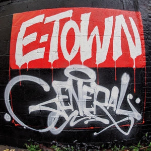 "E-Town General (LP) | Brainorchestra | Copenhagen Crates Exclusive Limited Vinyl 12"" Wax Record Underground Rap Hiphop Hip Hop"