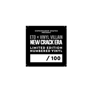 "New Crack Era (LP) | Eto x Vinyl Villain | Copenhagen Crates Exclusive Limited Vinyl 12"" Wax Record Underground Rap Hiphop Hip Hop"