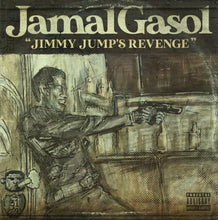 "Load image into Gallery viewer, Jimmy Jump's Revenge (LP) | Jamal Gasol | Copenhagen Crates Exclusive Limited Vinyl 12"" Wax Record Underground Rap Hiphop Hip Hop"