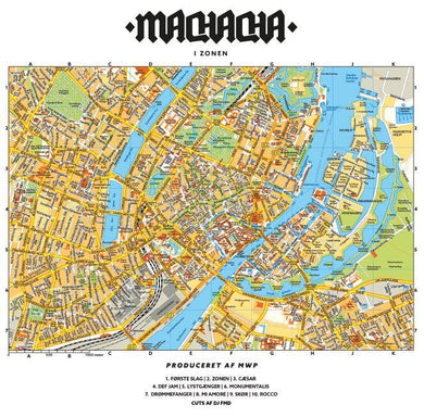I Zonen (LP) | Machacha x M.W.P. | Copenhagen Crates Exclusive Limited Vinyl 12