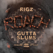 "Load image into Gallery viewer, Roach Gutta Slums (LP) | Rigz | Copenhagen Crates Exclusive Limited Vinyl 12"" Wax Record"