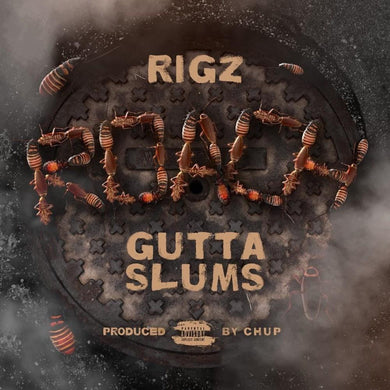 Roach Gutta Slums (LP) | Rigz | Copenhagen Crates Exclusive Limited Vinyl 12