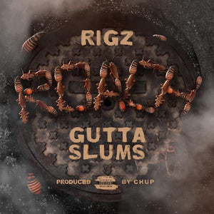 "Roach Gutta Slums (LP) | Rigz | Copenhagen Crates Exclusive Limited Vinyl 12"" Wax Record"