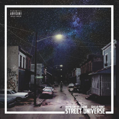 Street Universe (LP) | Napoleon Da Legend x Giallo Point | Copenhagen Crates Exclusive Limited Vinyl 12
