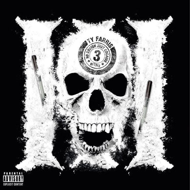 No Cosign Just Cocaine 3 (LP) | Ty Farris | Copenhagen Crates Exclusive Limited Vinyl 12
