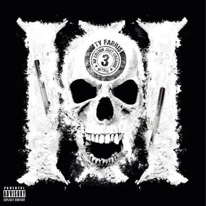 "No Cosign Just Cocaine 3 (LP) | Ty Farris | Copenhagen Crates Exclusive Limited Vinyl 12"" Wax Record"