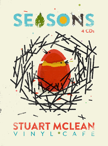 New! - Stuart McLean - Vinyl Cafe - Seasons (CD)