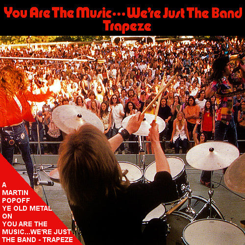 Martin Popoff - eBook - Trapeze...You Are the Music, We're Just the Band
