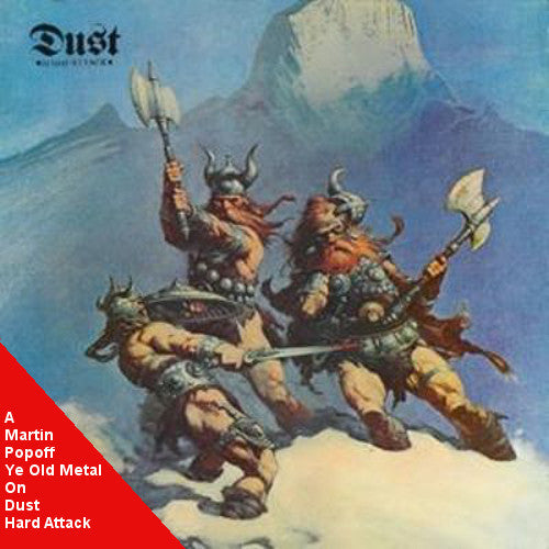 Martin Popoff - eBook - Dust – Hard Attack