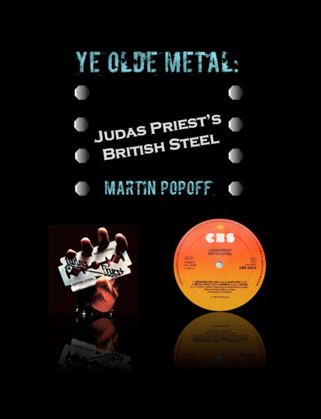 Martin Popoff – eBook – Judas Priest – British Steel