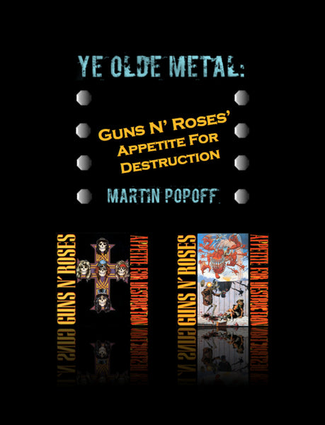 Martin Popoff – eBook – Guns N' Roses – Appetite For Destruction