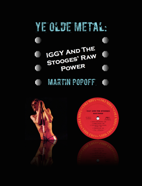 Martin Popoff – eBook – Iggy And The Stooges – Raw Power
