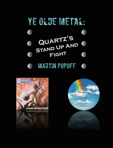 Martin Popoff – eBook – Quartz – Stand Up And Fight