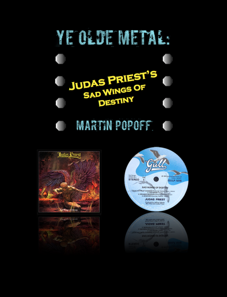 Martin Popoff – eBook – Judas Priest – Sad Wings Of Destiny